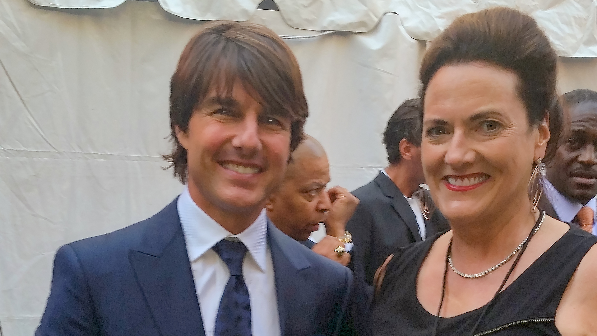 Tom Cruise at Mission Impossible Film Premiere