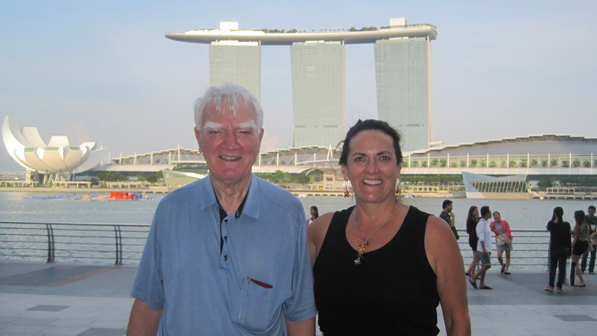 Sir Mark Moody Stuart in Singapore